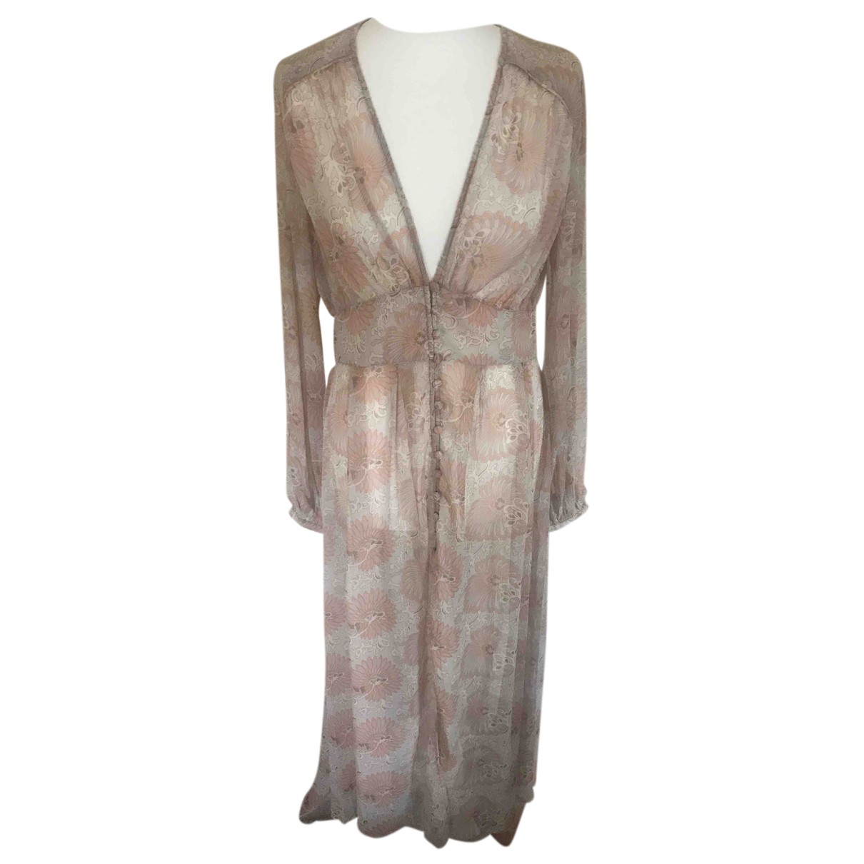 Free People - Robe   pour femme - rose