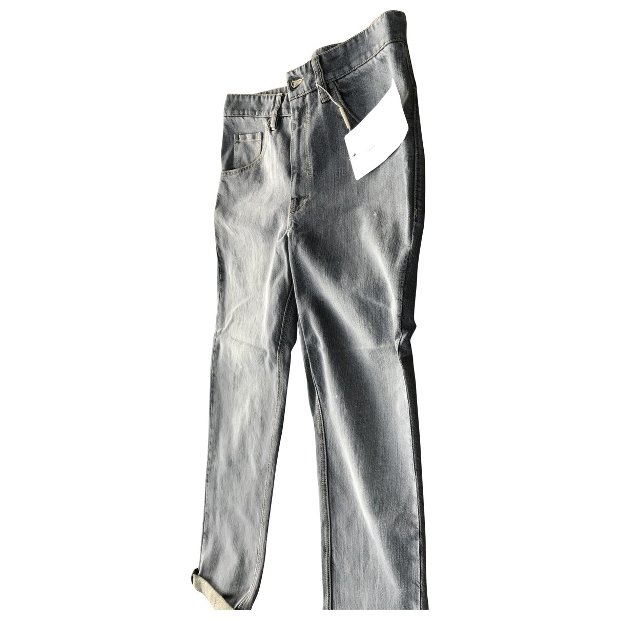 Brunello Cucinelli \N Grey Denim - Jeans Jeans for Women 42 FR