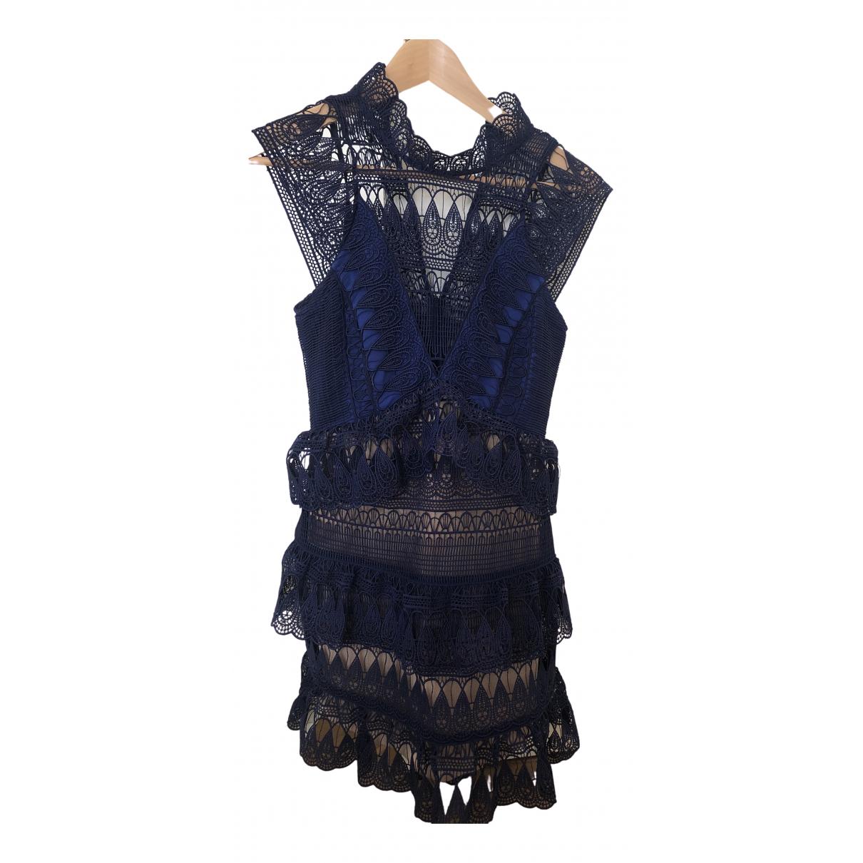 Self Portrait \N Blue dress for Women 4 US