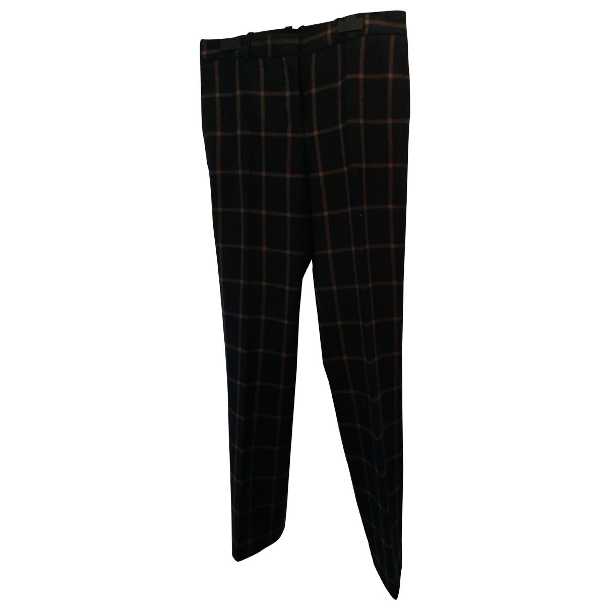 Pantalon de traje de Lana Boss