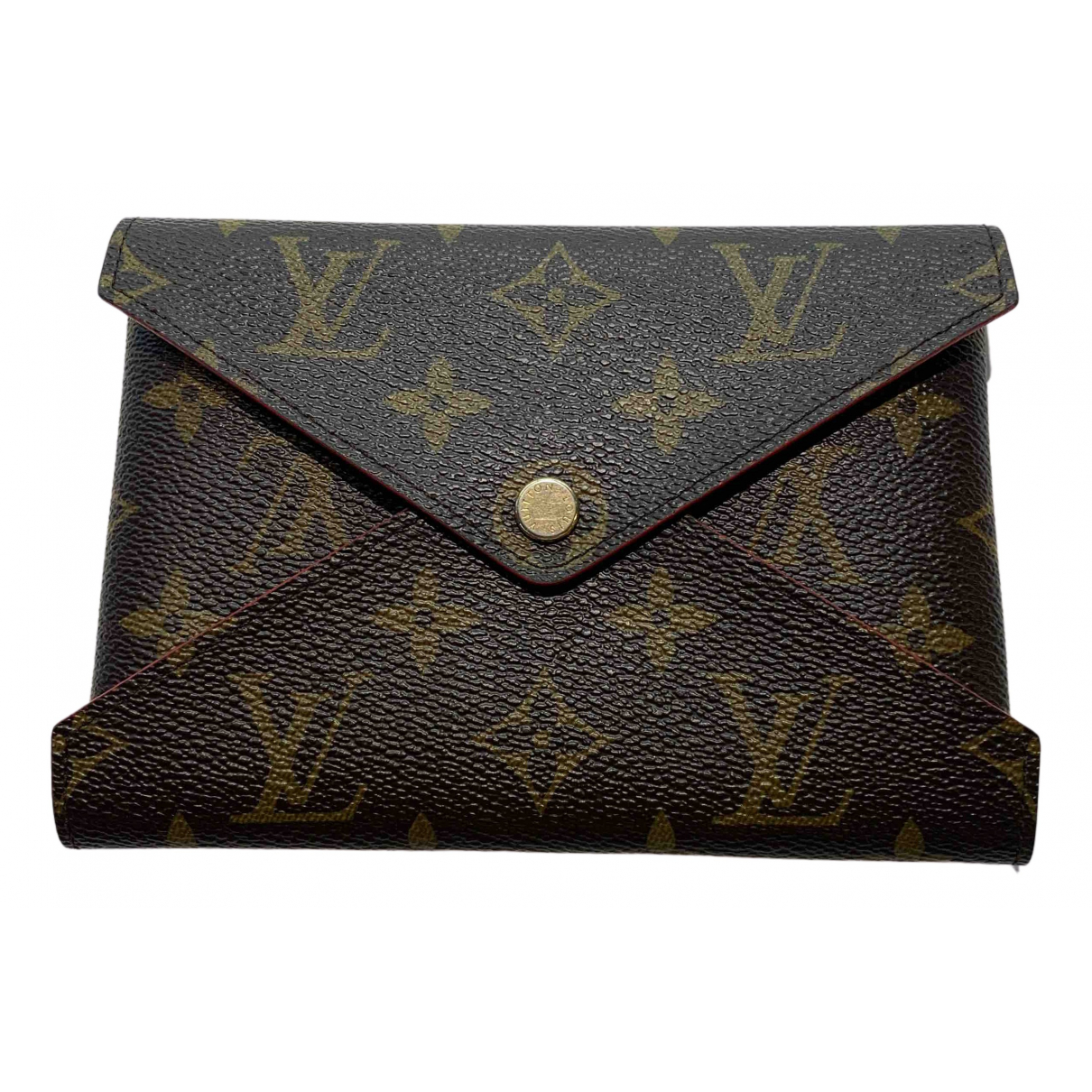 Louis Vuitton Kirigami Brown Cloth Purses, wallet & cases for Women N