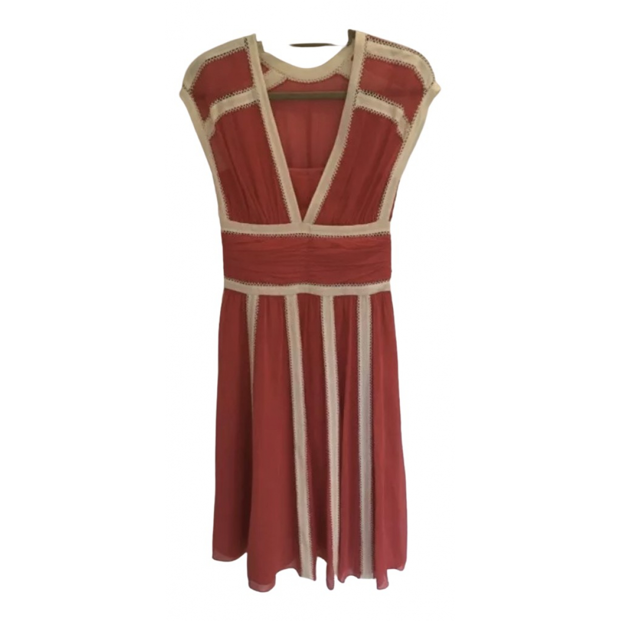 Temperley London \N Kleid in  Rosa Seide