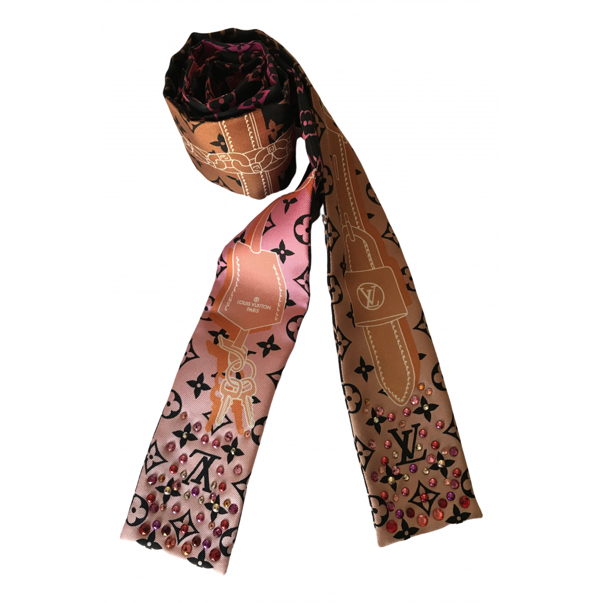 Louis Vuitton - Foulard   pour femme en soie - multicolore