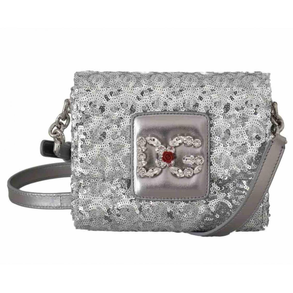 Dolce & Gabbana Millenials Silver handbag for Women \N