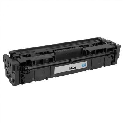 Compatible HP 206A W2111A cartouche de toner cyan - sans puce - Moustache®