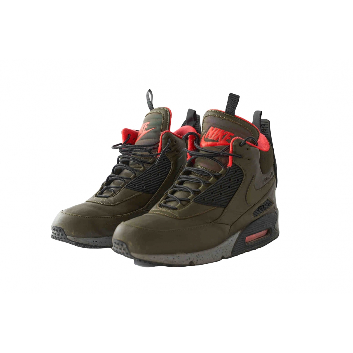 Nike Air Max 90 Sneakers in  Khaki Leder