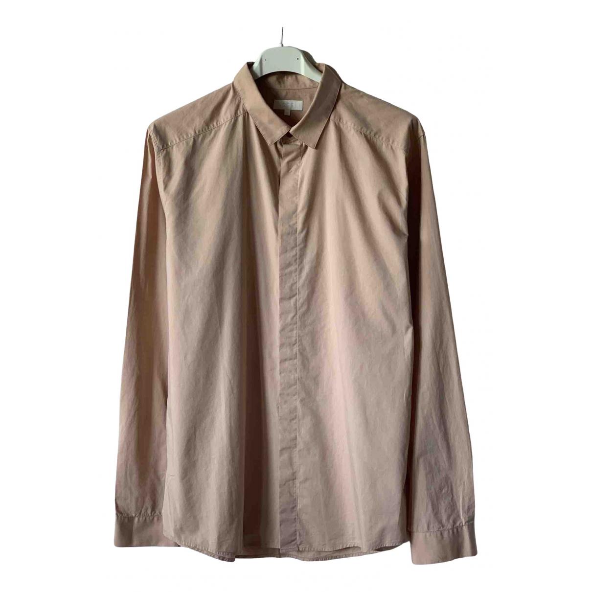 Cos - Chemises   pour homme en coton - rose