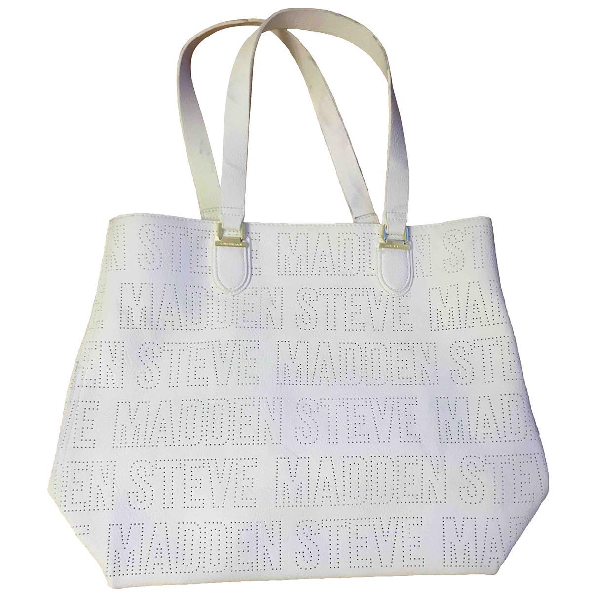 Steve Madden - Sac a main   pour femme en cuir verni - blanc
