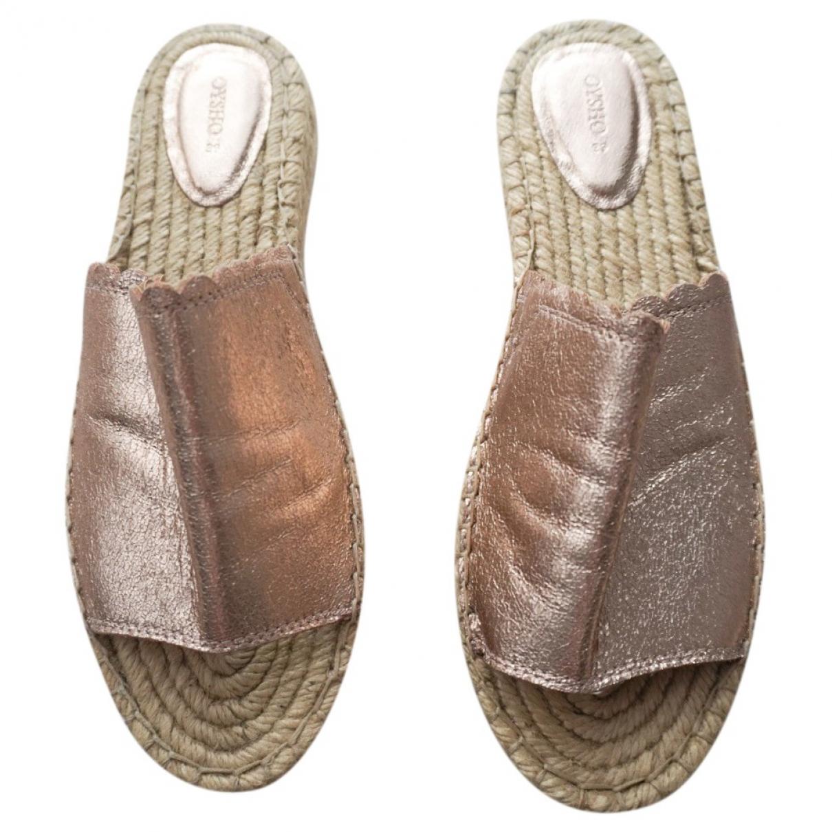 Oysho - Sandales   pour femme en toile