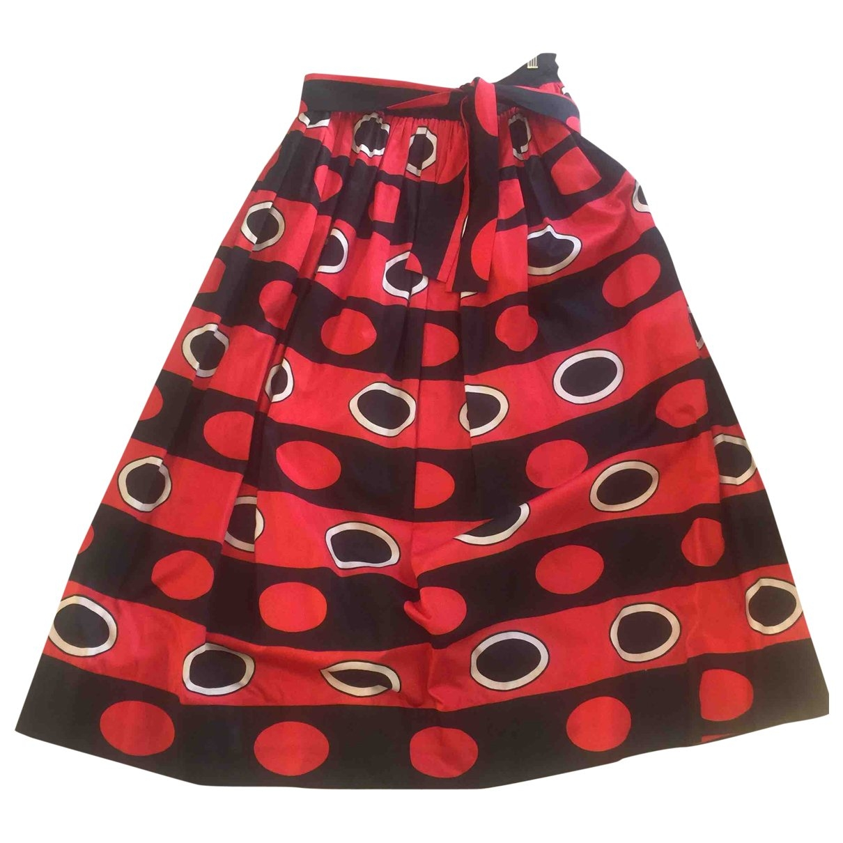 Yves Saint Laurent \N Multicolour Cotton skirt for Women M International