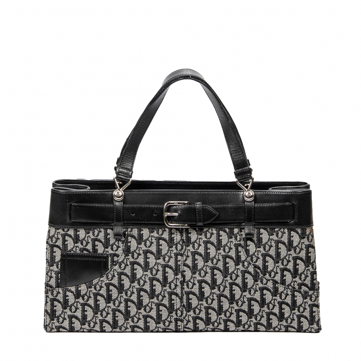 Dior \N Black Cotton handbag for Women \N