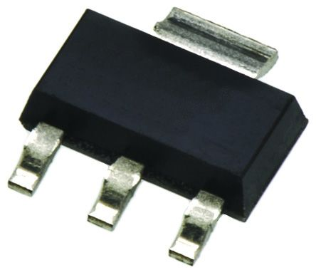 Fagor Electronica FT0103MN00RB 1A, 600V, TRIAC, Gate Trigger 1.3V 5mA, 3+Tab-pin, Surface Mount, SOT-223 (100)