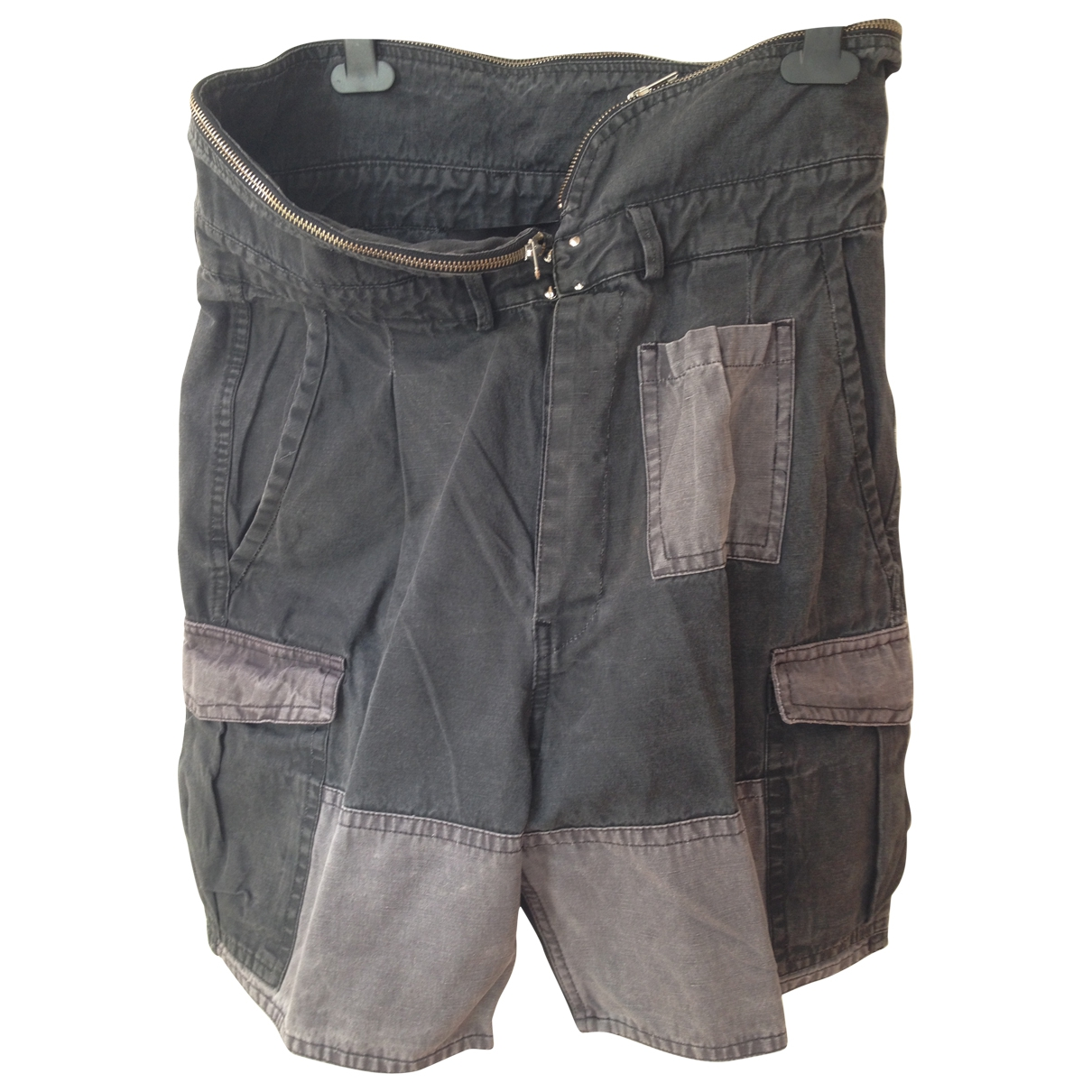 Isabel Marant \N Grey Cotton Shorts for Women 2 US
