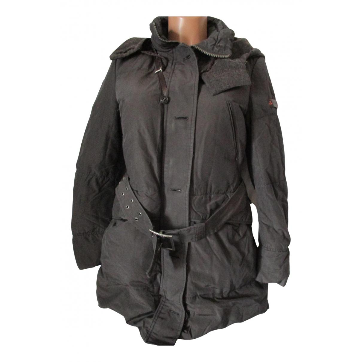 Peuterey N Brown jacket for Women 42 IT