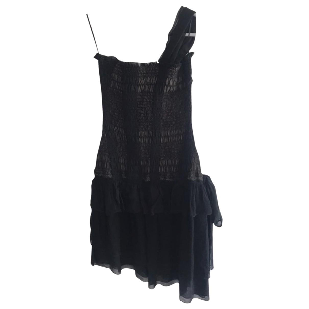 Vanessa Bruno \N Kleid in  Schwarz Seide