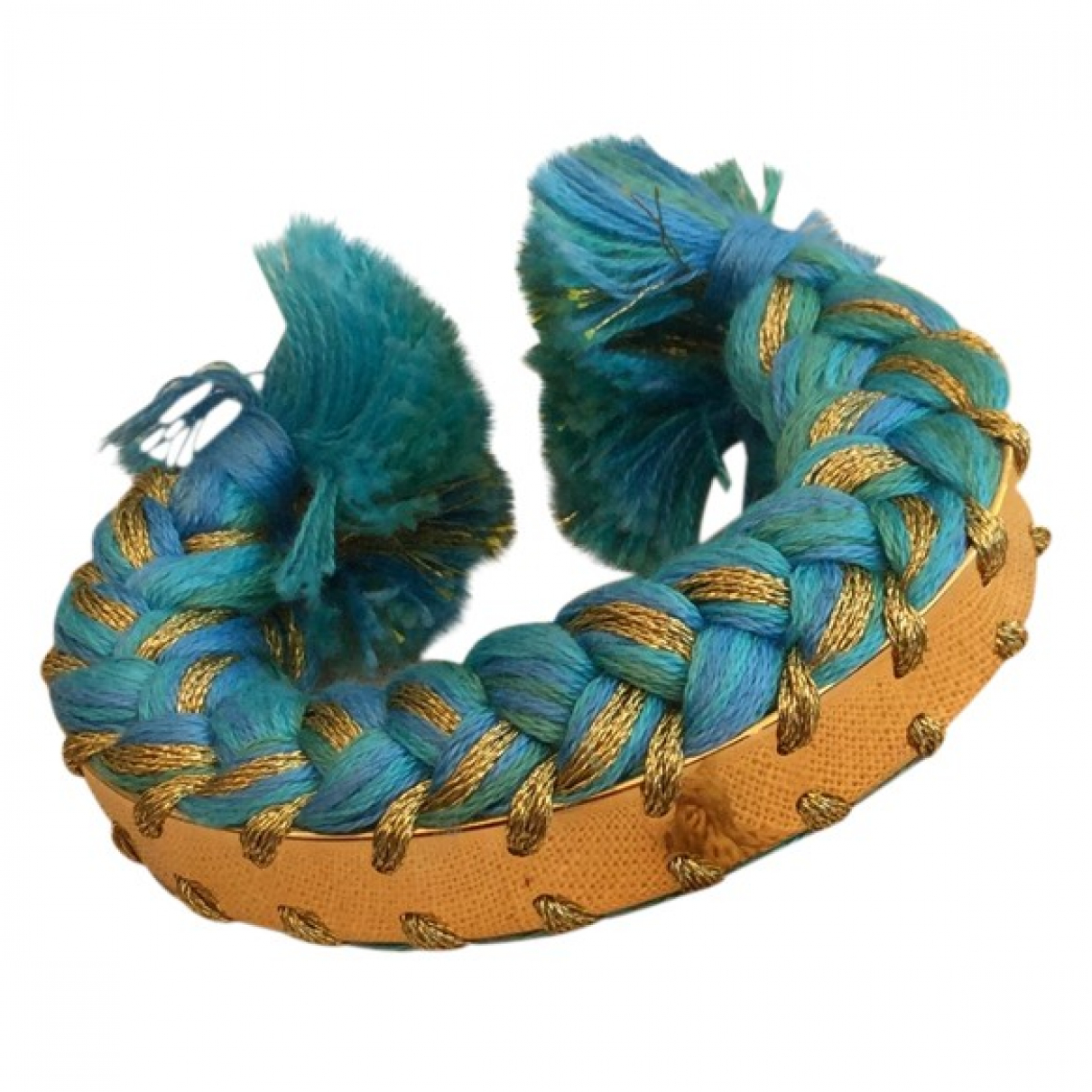 Aurelie Bidermann Copacabana Turquoise Metal bracelet for Women \N