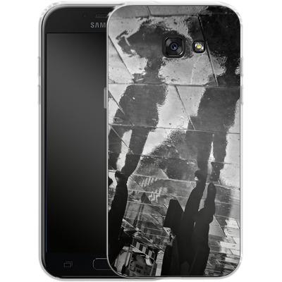Samsung Galaxy A5 (2017) Silikon Handyhuelle - It Must Be Monday Morning von Ronya Galka