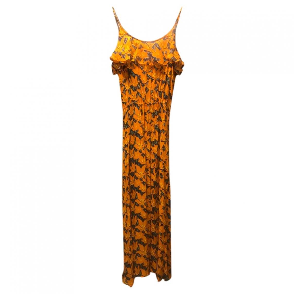 Dolores Promesas \N Kleid in  Orange Viskose
