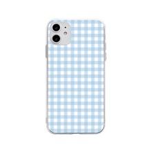 1 Stueck iPhone Huelle mit Karo Muster