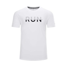Men Letter Graphic Short Sleeve Sports Tee