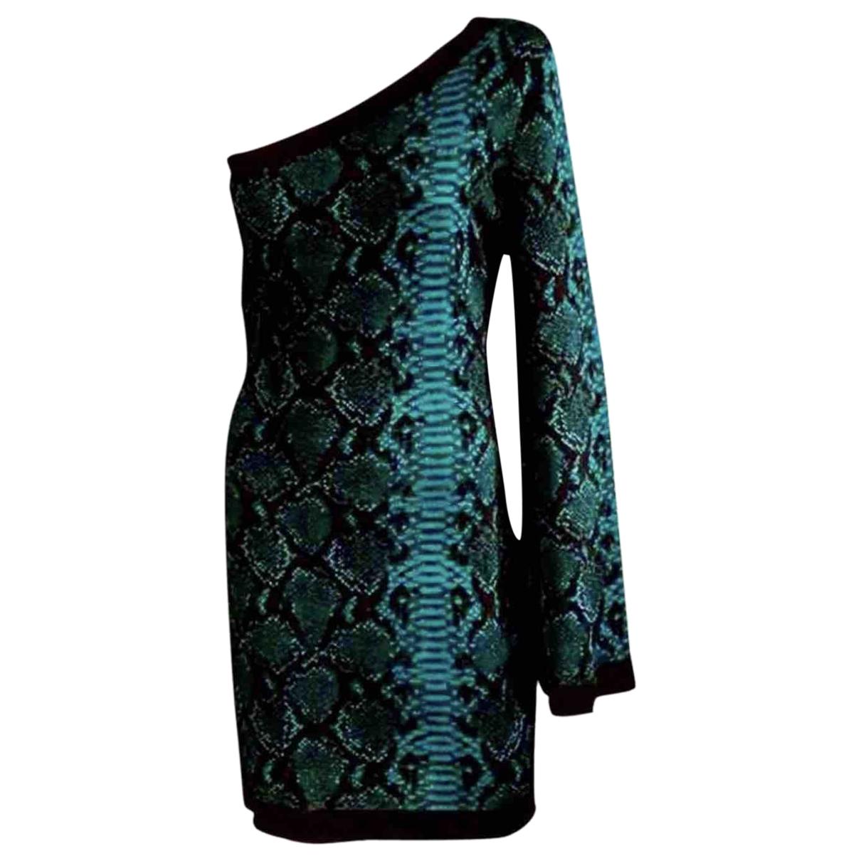 Balmain \N Green dress for Women 40 FR