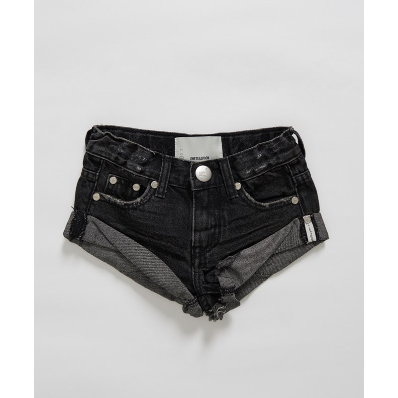 KIDS BLACK SEA BANDITS DENIM SHORT