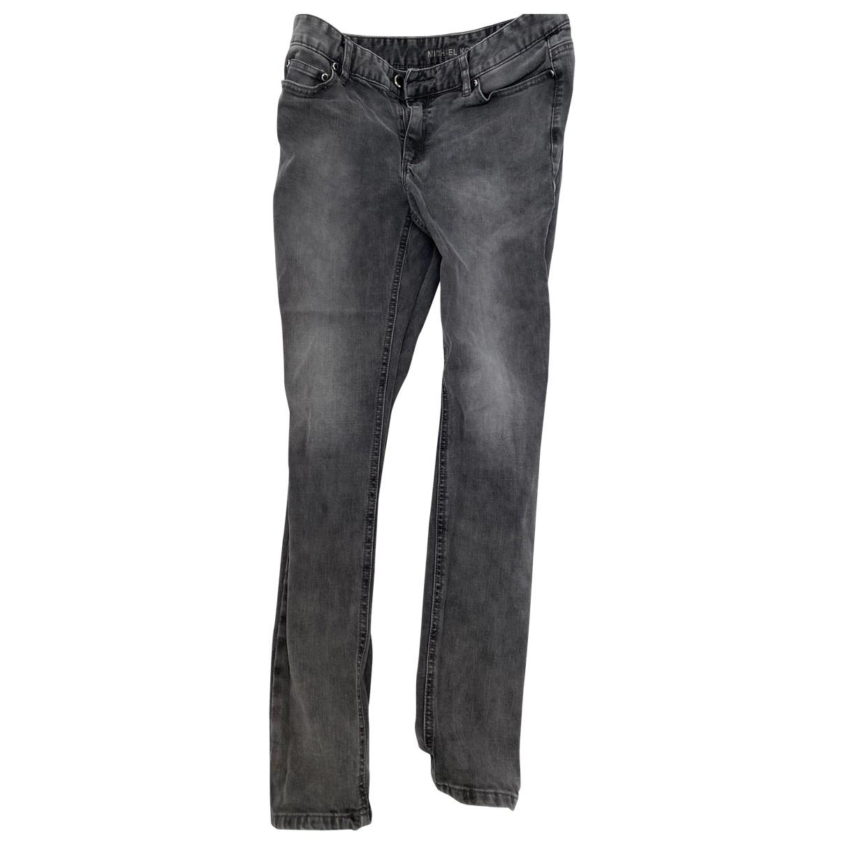 Michael Kors \N Black Cotton Jeans for Women 28 US