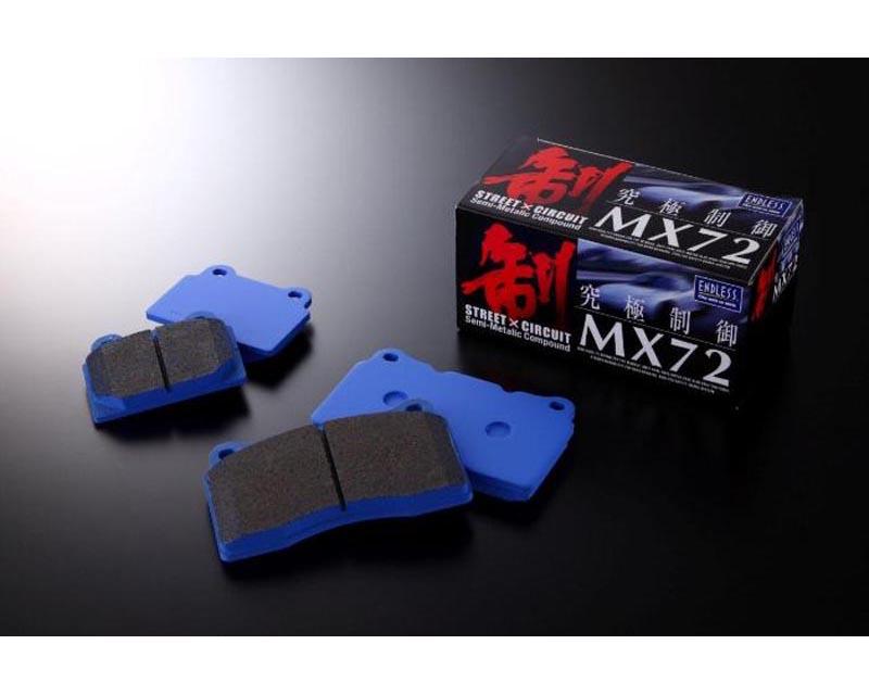 Endless EIP 072 MX72 EWIG MX-72 Front Brake Pads Porsche Cayman S 3.4L 07