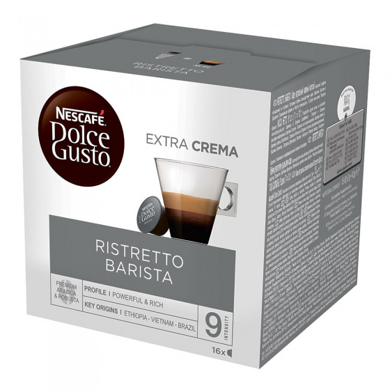 "Kaffeekapseln NESCAFE Dolce Gusto ""Ristretto Barista"", 16 Stk."