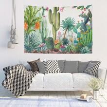 Tapisserie mit Kaktus Muster