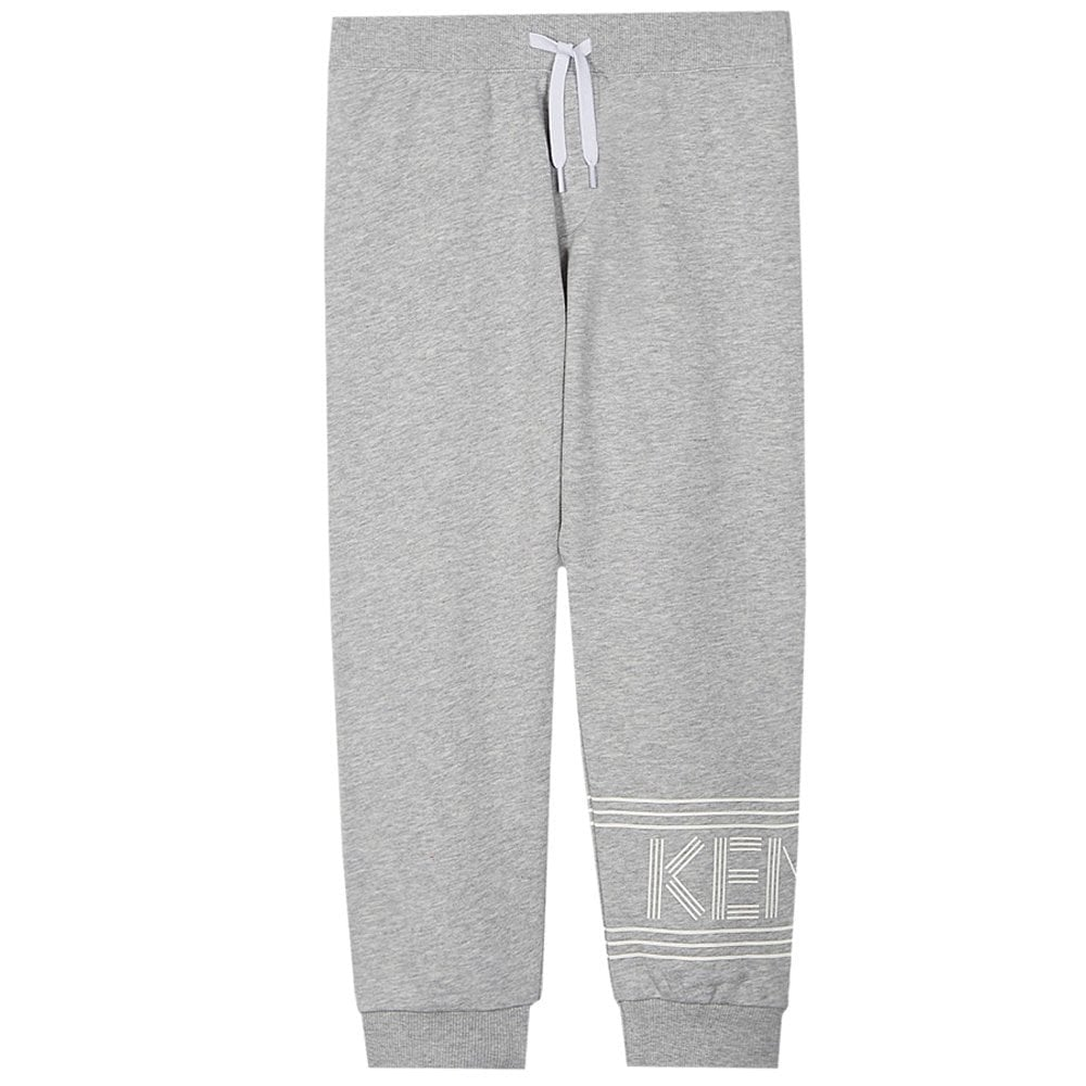 Kenzo Kids Joggers Grey  Colour: GREY, Size: 8 YEARS