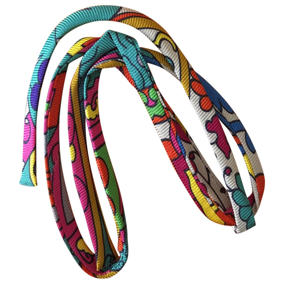 Hermès N Silk bracelet for Women N
