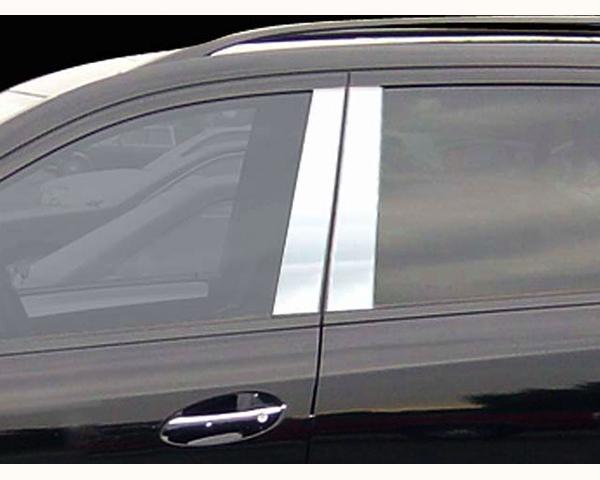 Quality Automotive Accessories 4-Piece Pillar Post Trim Kit Mercedes-Benz ML-Class 2006