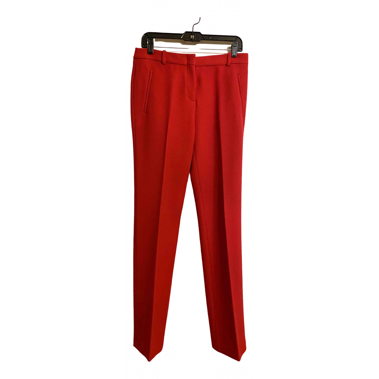 Bcbg Max Azria \N Red Trousers for Women S International
