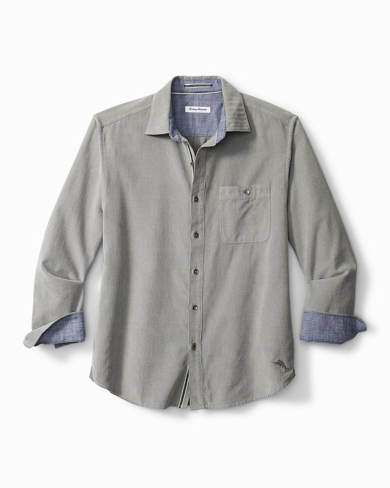 Big & Tall Coastline Corduroy Sandwash Shirt