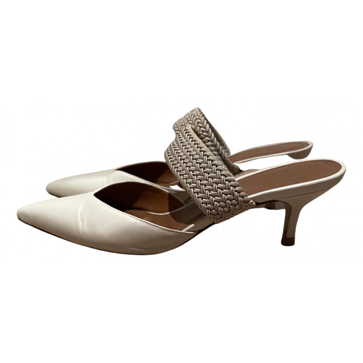 Malone Souliers - Sandales   pour femme en cuir - blanc