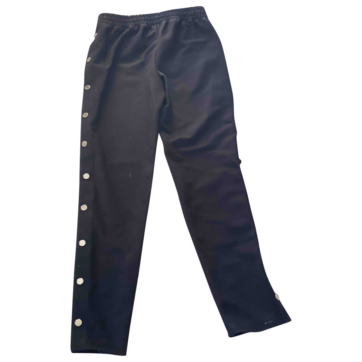 Maje N Black Trousers for Women 1 0-5