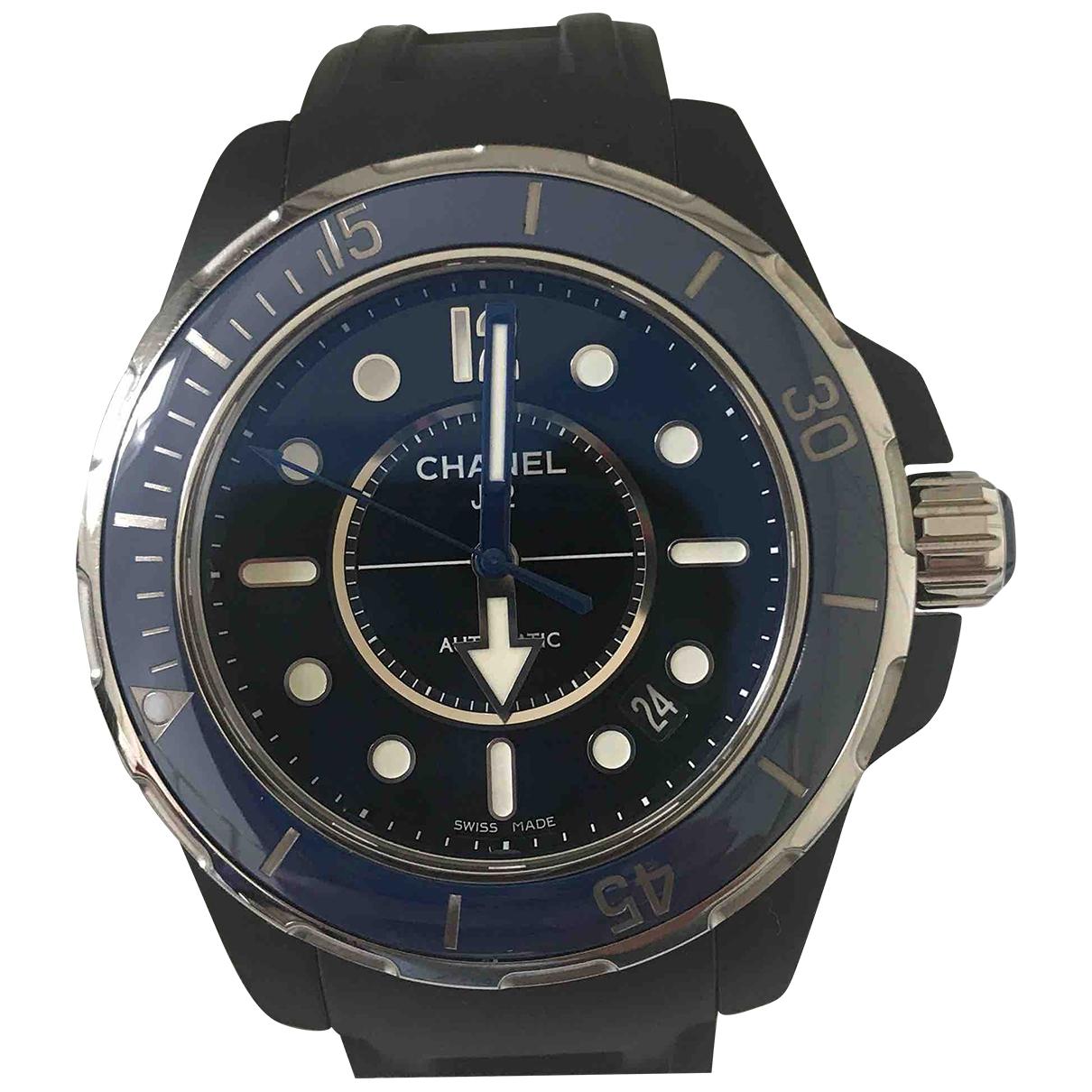 Reloj J12  Marine de Ceramica Chanel