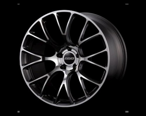 Volk Racing WK6AV43ERM G16 Wheel 20x8.5 5x114.3 43mm REFAB w/ Side Dark Gunmetal