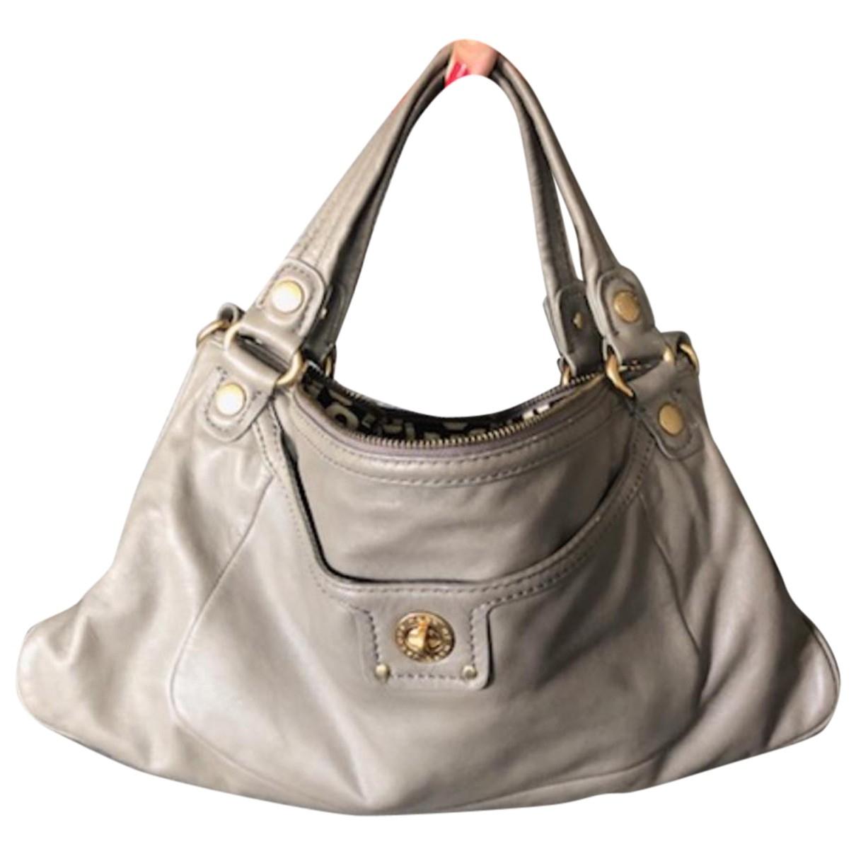 Marc By Marc Jacobs \N Grey Leather handbag for Women \N