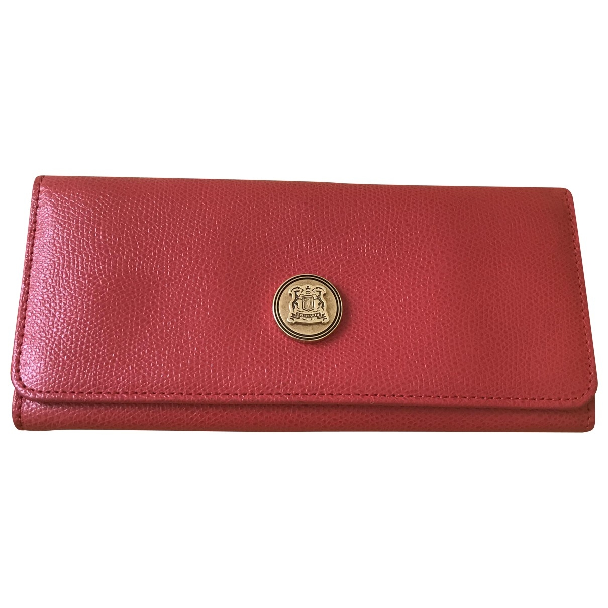 Trussardi \N Red Leather wallet for Women \N