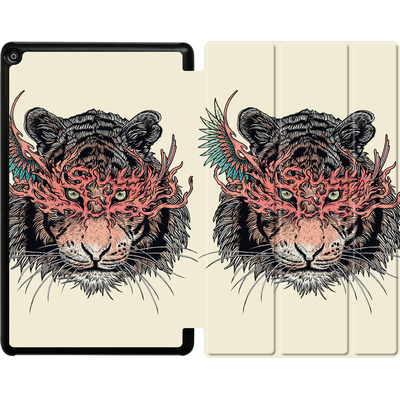 Amazon Fire HD 10 (2017) Tablet Smart Case - Masked Tiger von Mat Miller