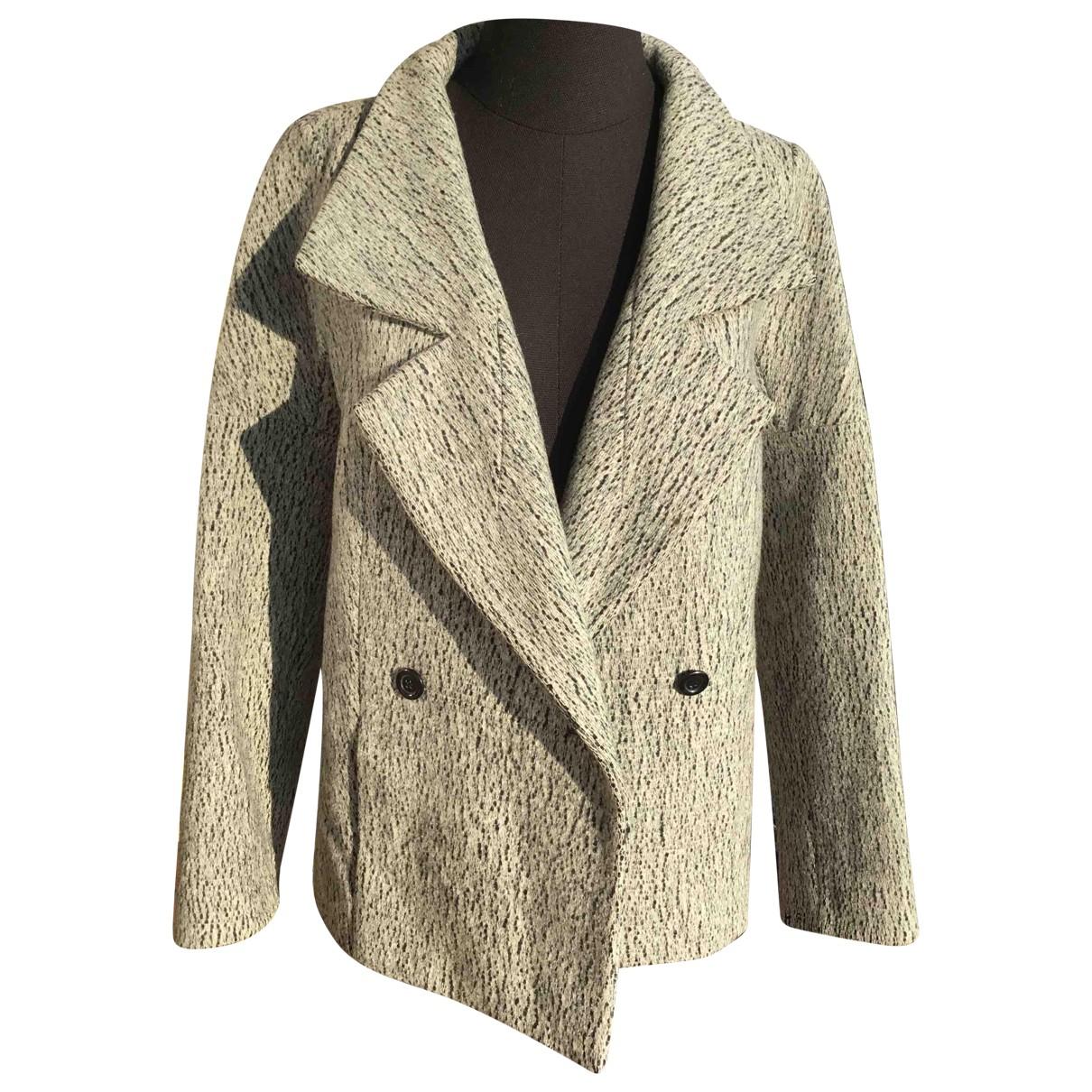 Chloe - Veste   pour femme en laine - gris