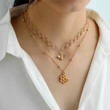 Bee Layered Necklace