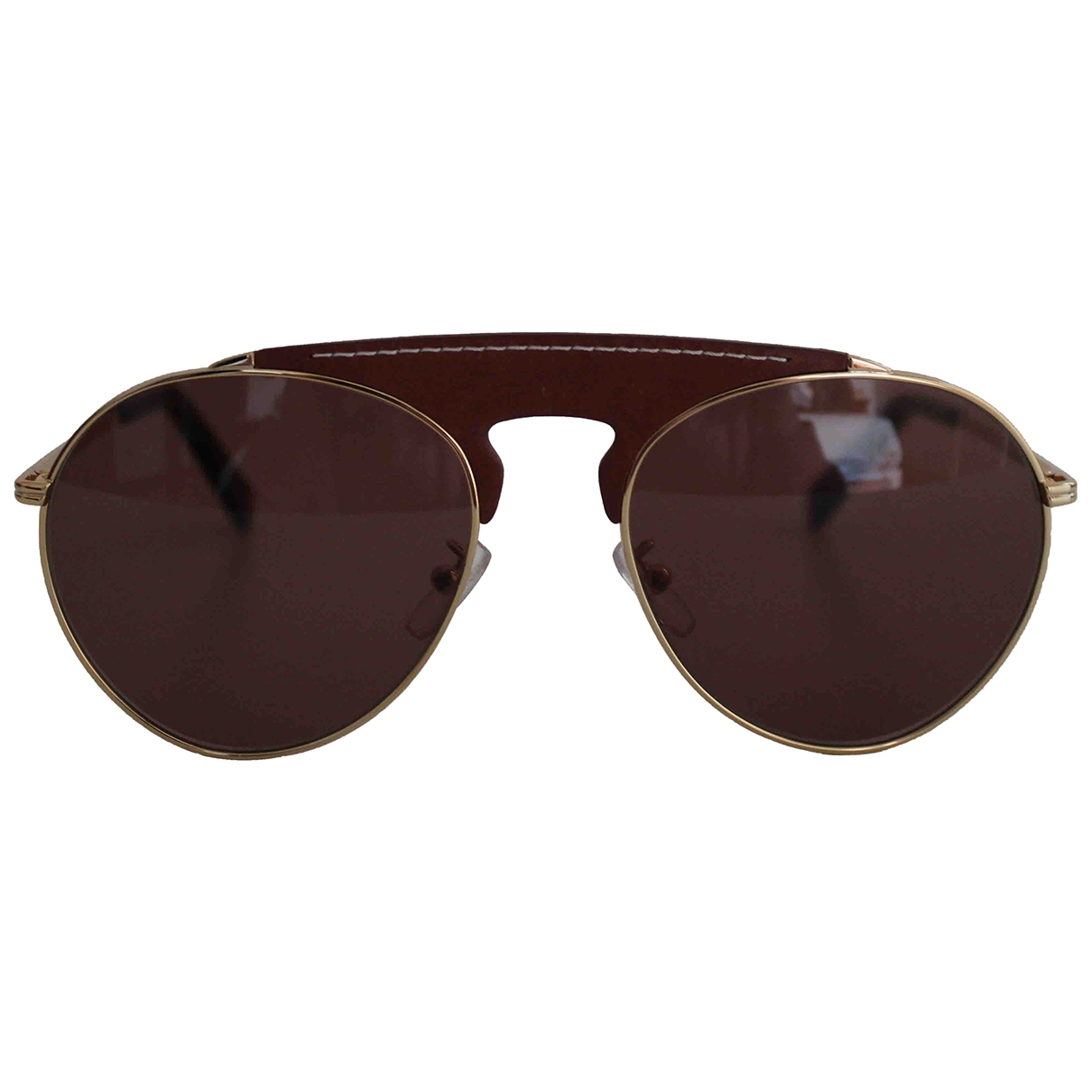 Loewe \N Brown Metal Sunglasses for Women \N