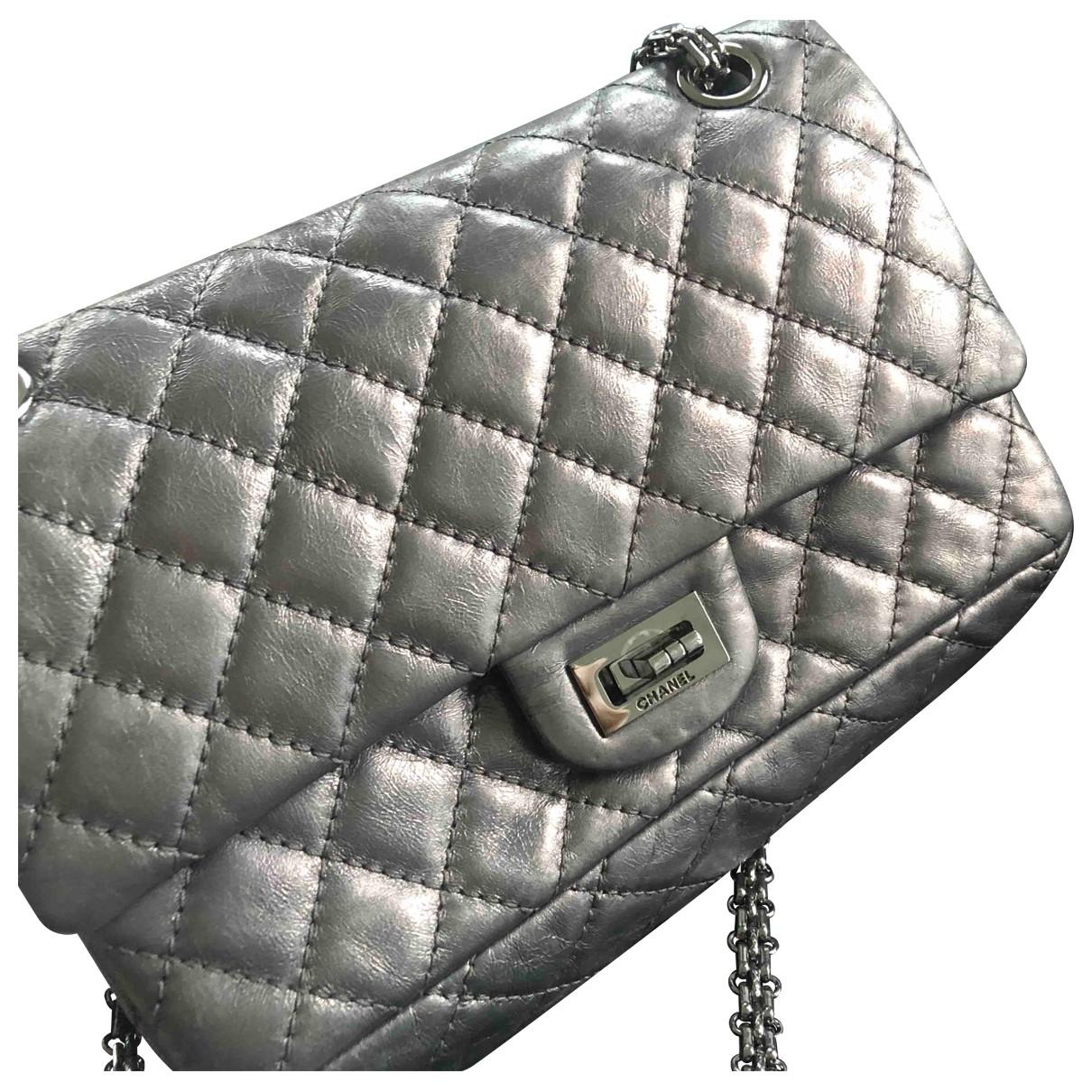 Chanel 2.55 Metallic Leather handbag for Women \N
