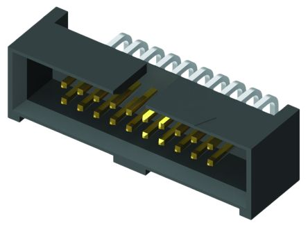 Samtec , SHF, 20 Way, 2 Row, Right Angle PCB Header (2)