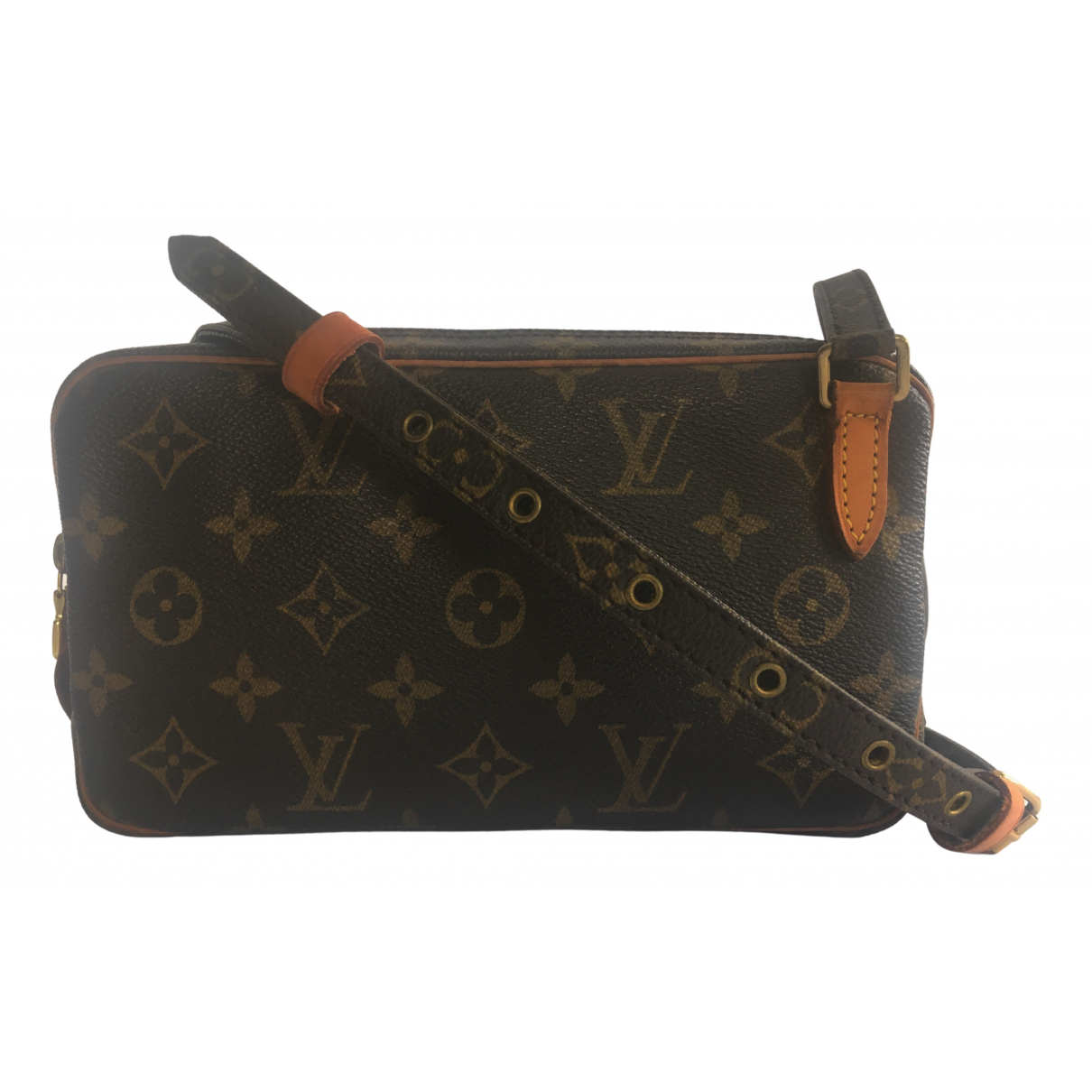 Louis Vuitton Marly vintage Brown Cloth handbag for Women N