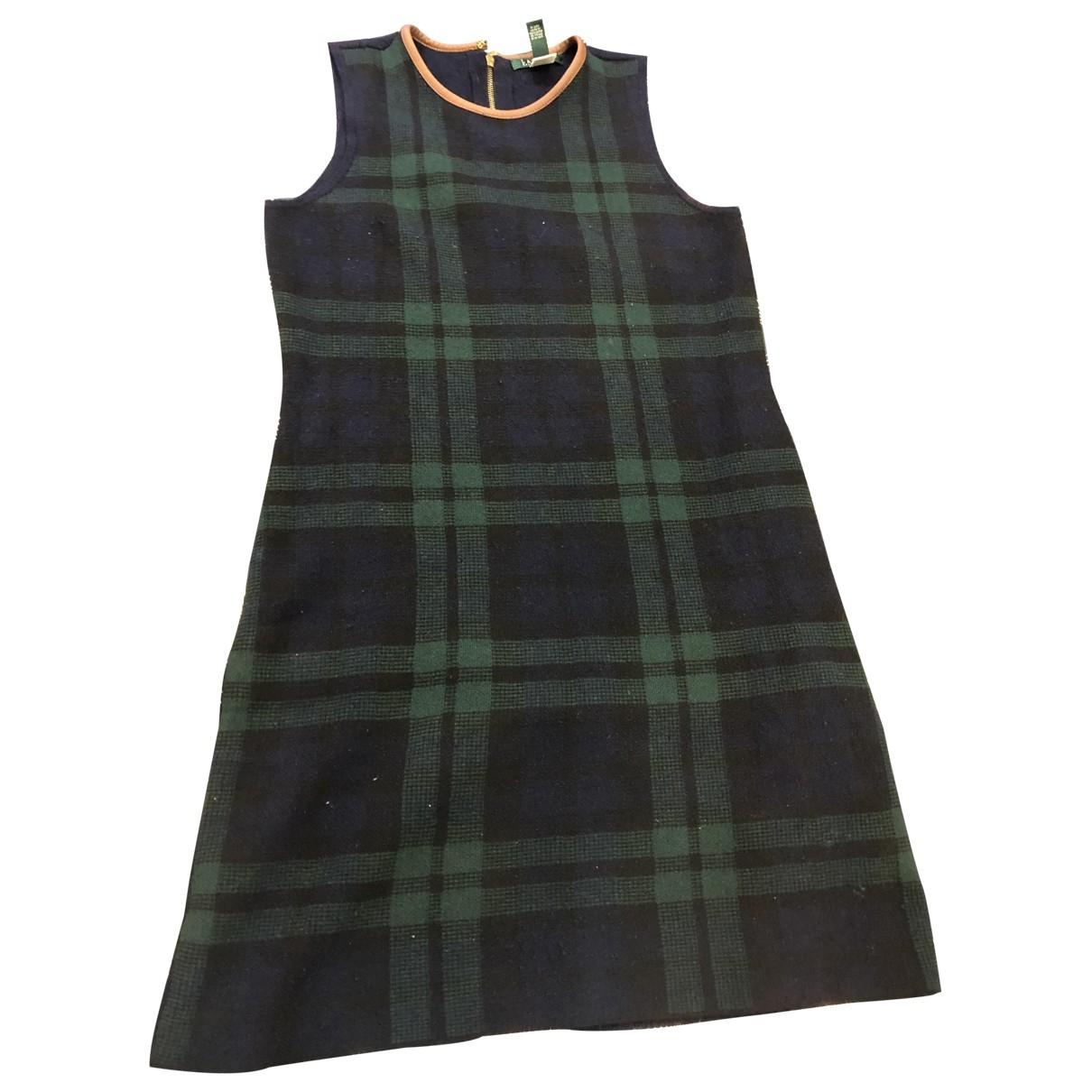 Lauren Ralph Lauren \N Navy Wool dress for Women L International