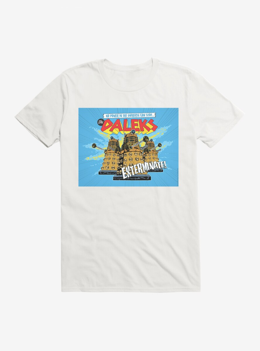 Doctor Who Power Cant Stop The Daleks T-Shirt